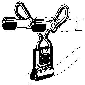 Зажимы для гибких удлинителей R-1431-6